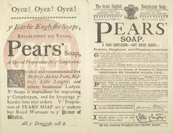 Advertisement for Pears' Soap reverse(014EVA000000000U07540V00)